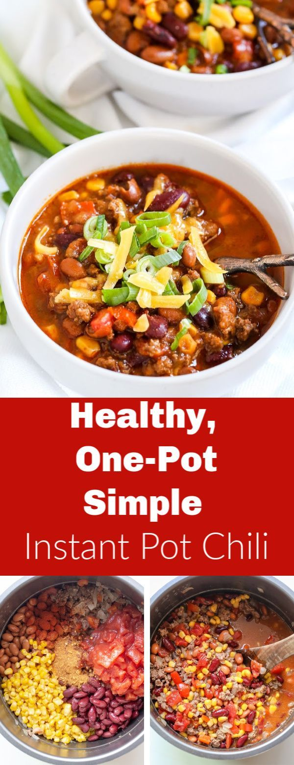 A hearty bowl full of healthy!! This chili is delicious and high in protein a perfect
