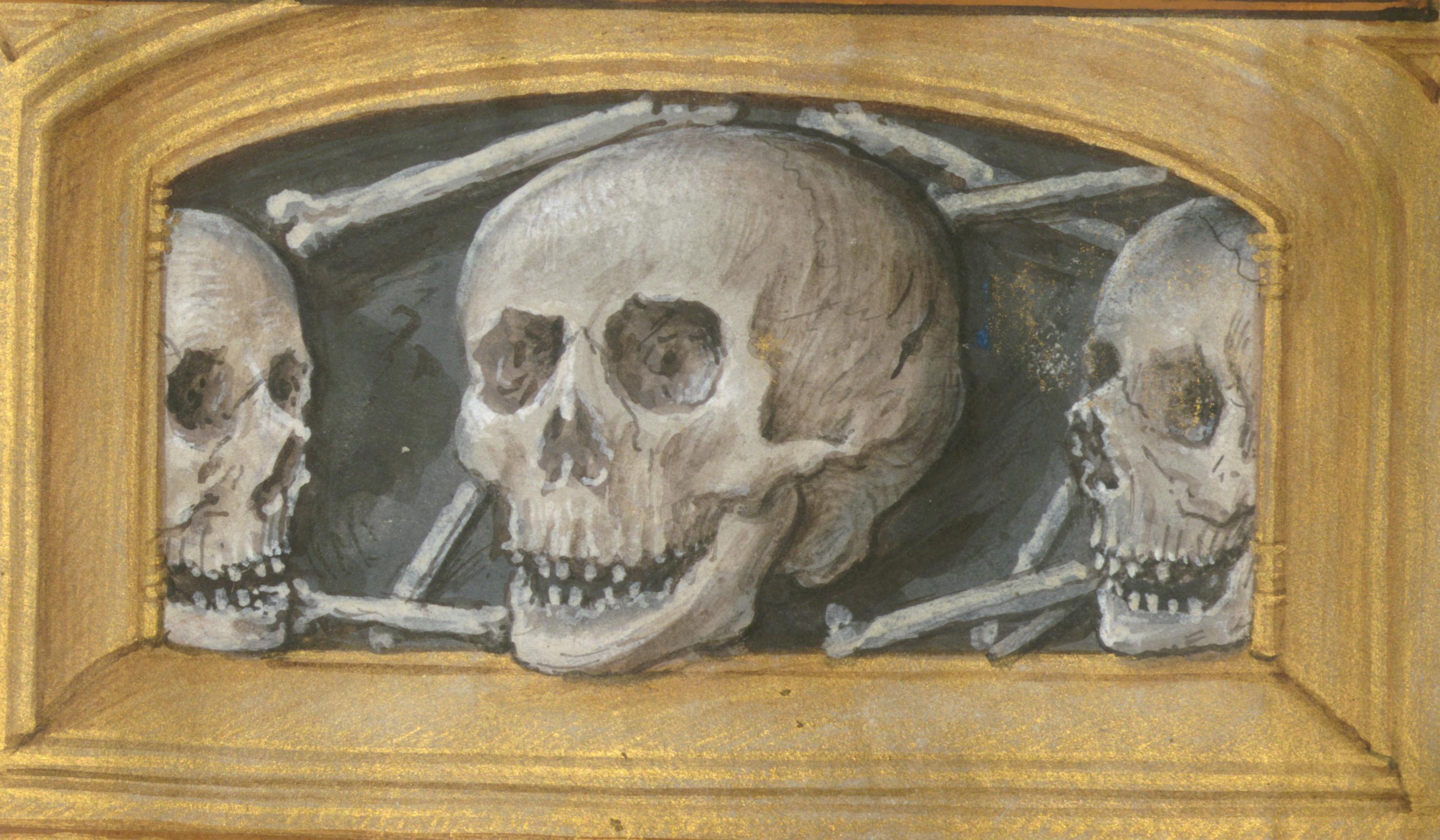 Aussem Hours, Walters Manuscript W.437, fol. 66v detail