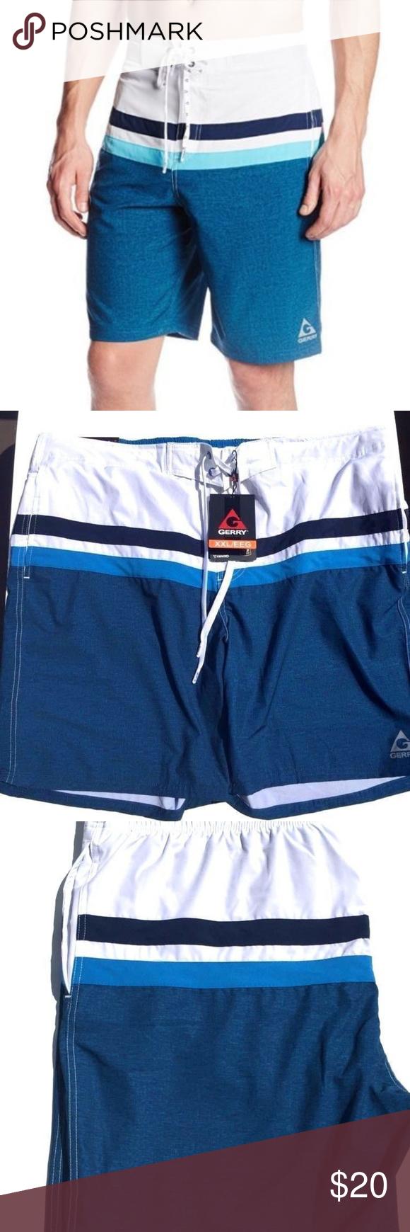8724c063a1 Gerry Men's Swim Shorts General Descriptions Product: Gerry Men's Quick-Dry  Swim Short Size