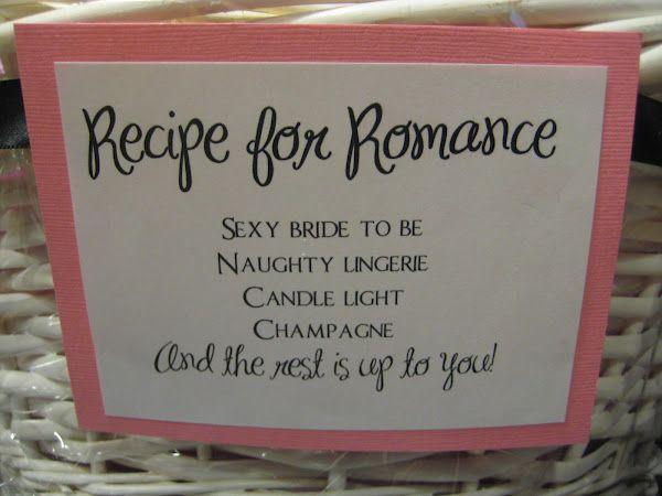 Cute Idea For A Bachelorette Or Bridal Shower Gift