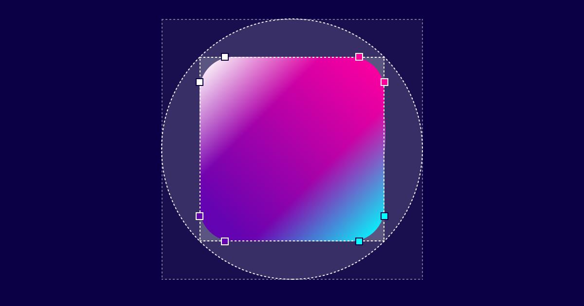 Generator to build organic shapes with CSS3 border-radius