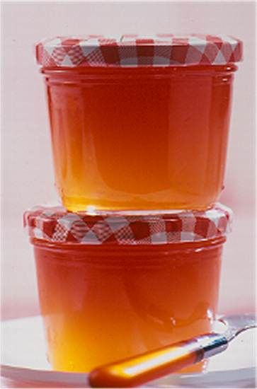 quitten orangen gelee rezept geschenke aus der k che pinterest. Black Bedroom Furniture Sets. Home Design Ideas