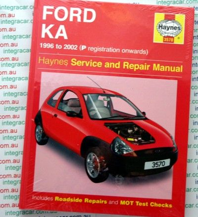 Ford Ka Repair Manual Haynes 1996 2002 New Repair Manuals