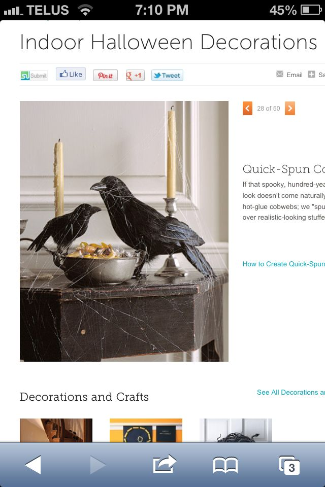 Pin by Terri-Lynn Foggitt on Halloween / Fall Pinterest Ravens - martha stewart outdoor halloween decorations