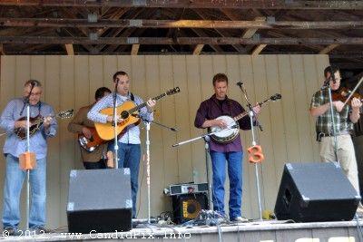 New County Grass at the 2012 Milan Bluegrass Festival - photo © Bill Warren (www.candidpix.info