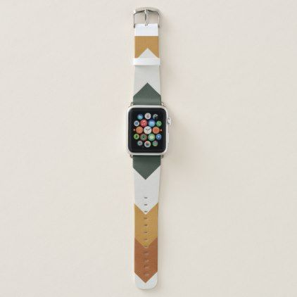 Modern Autumn pastel design Apple watch bands | Zazzle.com