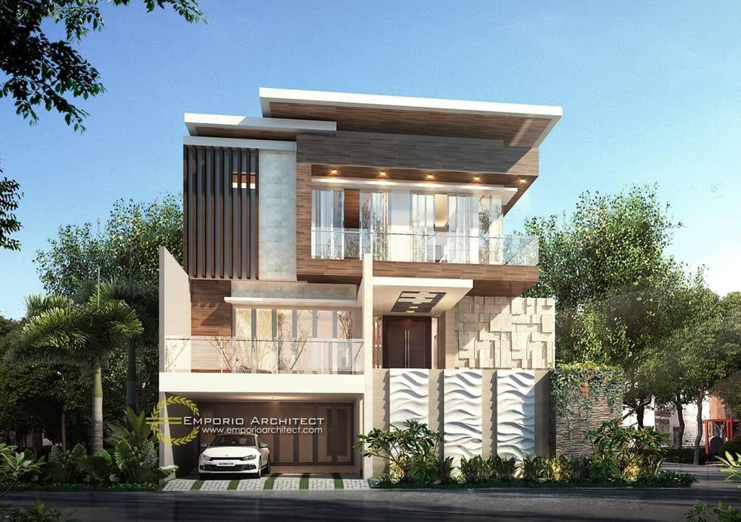 Mrs Sarah Private House Design Rangkasbitung Banten In 2020 House Architecture House House Design