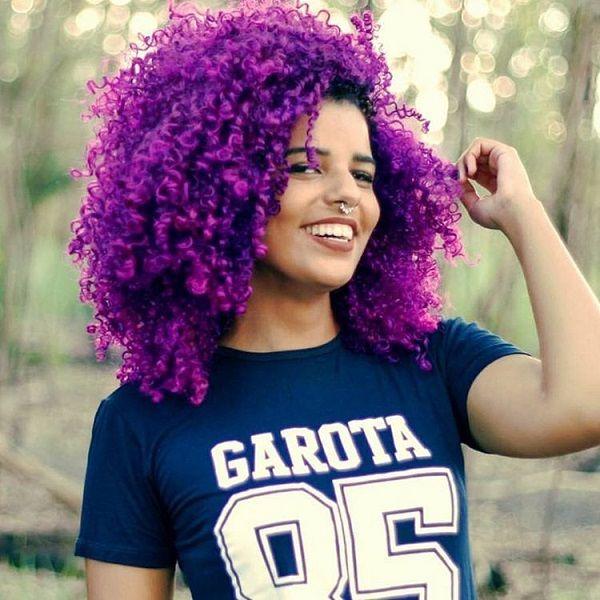 bold natural hair colors