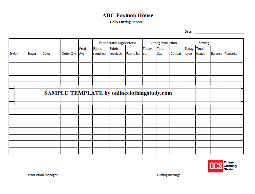 Production Status Report Template 3 Templates Example Templates Example