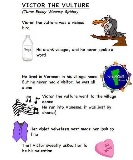 Alphabet Letter Song V (words From Frog Street Press