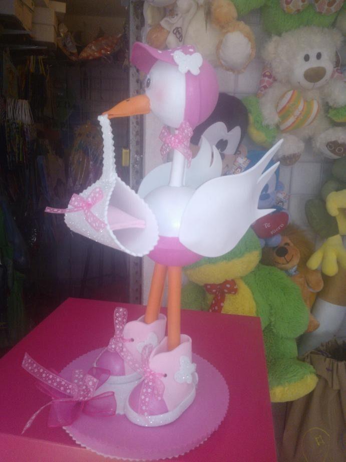 Cigüeña Para Baby Shower 2