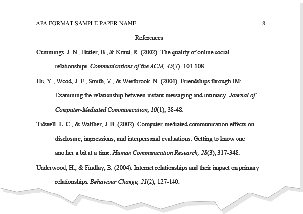 Don\'t know how to write a bibliography? See this APA format ...