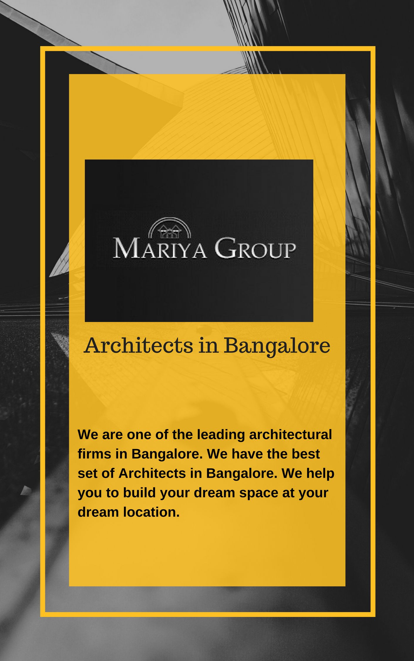 mariya group is one of the most renowned leading group of architects