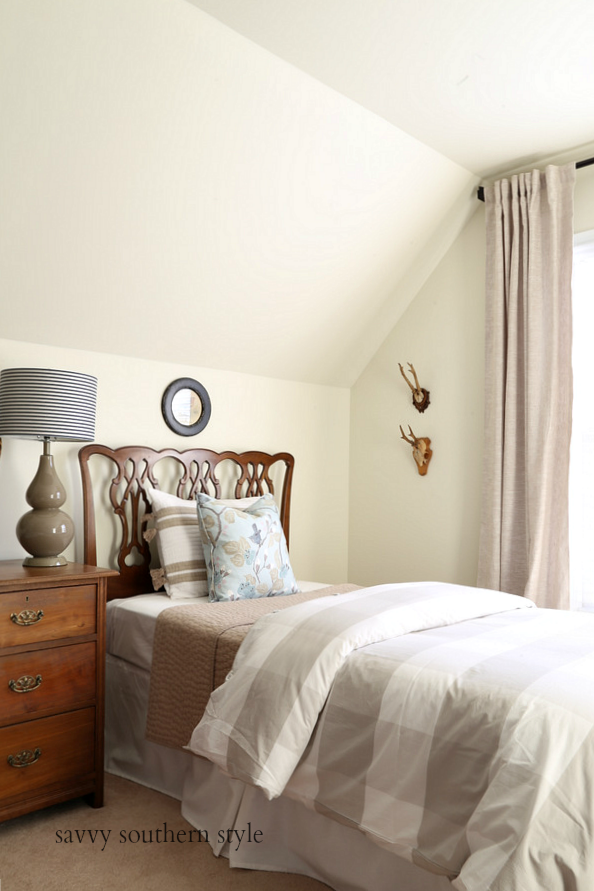 Spring Style Bedroom and How to Make a Bed Taller | From My Blog ...