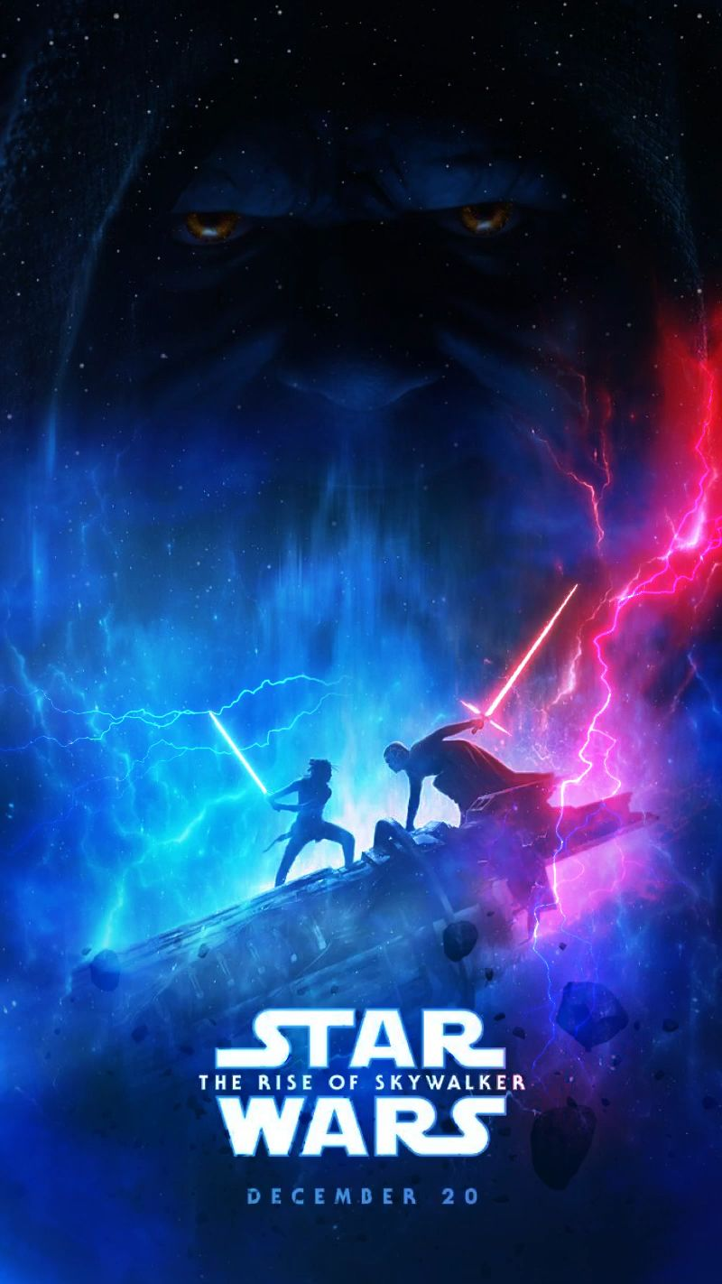 Animated Video Gif Created By Sherilynn Gould Star Wars The Rise Of Skywalker Starwars Moviepo Video Star Wars Wallpaper Iphone Star Wars Wallpaper Star Wars Watch