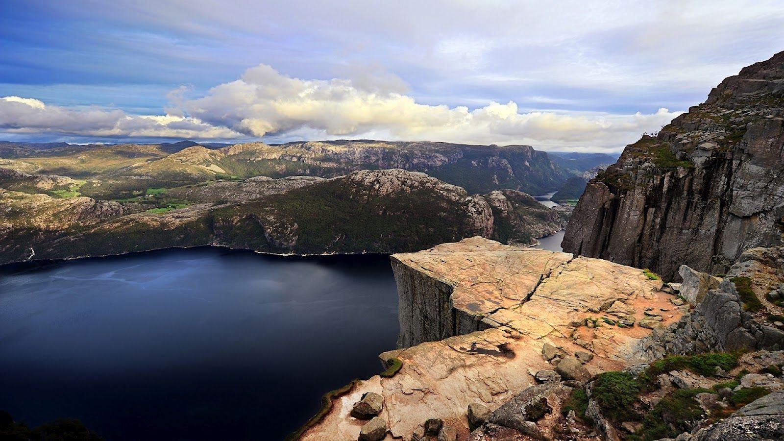 Preikestolen Pulpit Rock, Norway