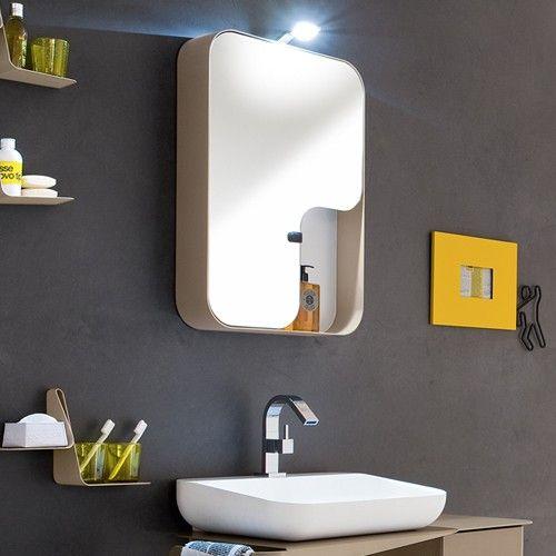 Storage Mirror Quadra From Arblu Modern Medicine Cabinets