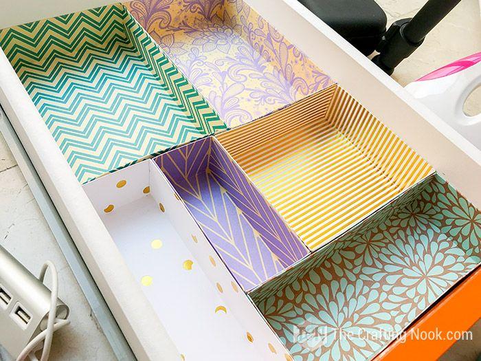 DIY Drawer Dividers for Desk Organizing (+Tips and Tricks images