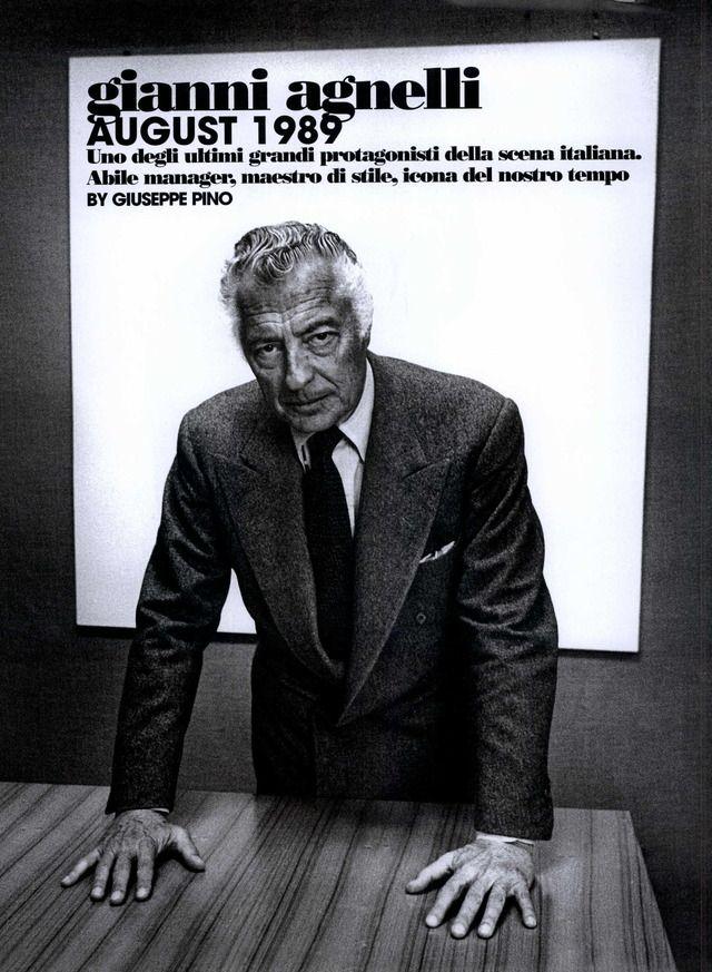 Gianni Agnelli. | Gianni agnelli, Smart men, Gianni