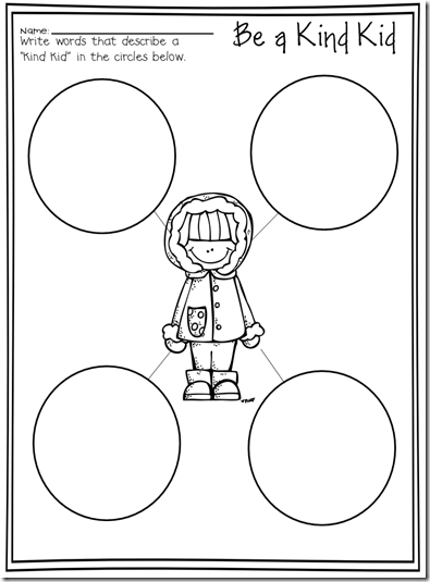 Random Acts of Kindness (2-4) – *no show* Coloring Pages for Kids ...