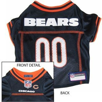 db14389a876 Chicago Bears NFL Football ULTRA Pet Jersey