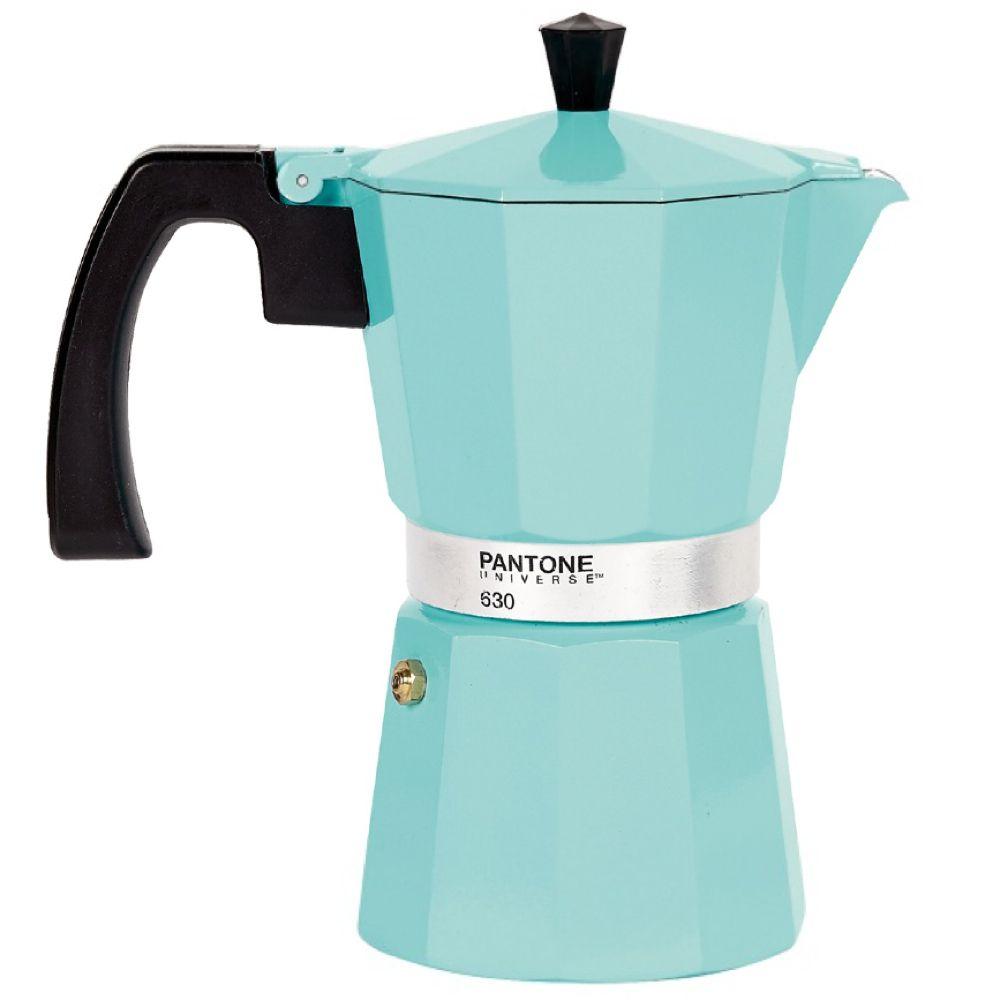Pantone Coffee Percolator 6 Cup Vintage Blue UPC