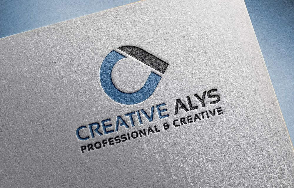 Paper Pressed PSD Logo Mockup Download Now For Free
