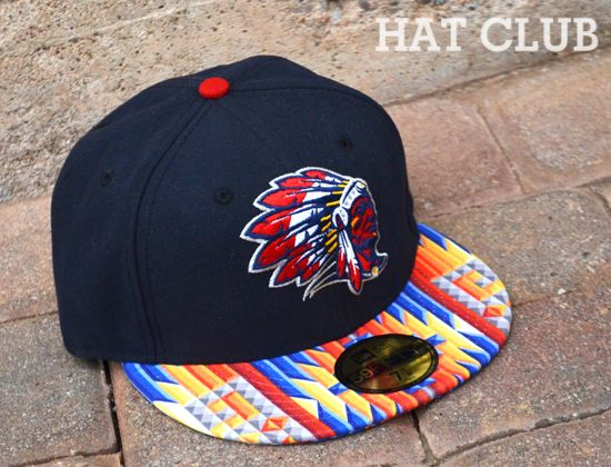Stilson Chief 59fifty Fitted Cap By Hat Club X Clink Room Fitted Caps Fitted Baseball Caps Cap