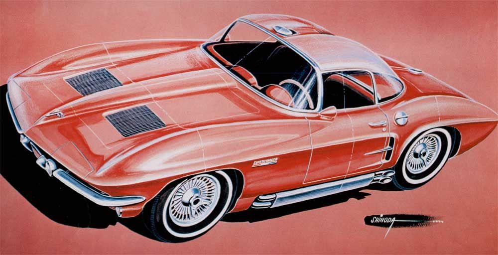 Larry Shinoda Part 1 Dean S Garage Concept Cars Vintage Corvette Classic Cars