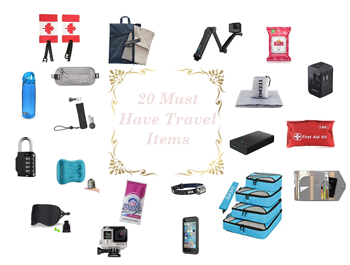 The Ultimate Packing List: 21 Must Have Travel Items  #ultimatepackinglist