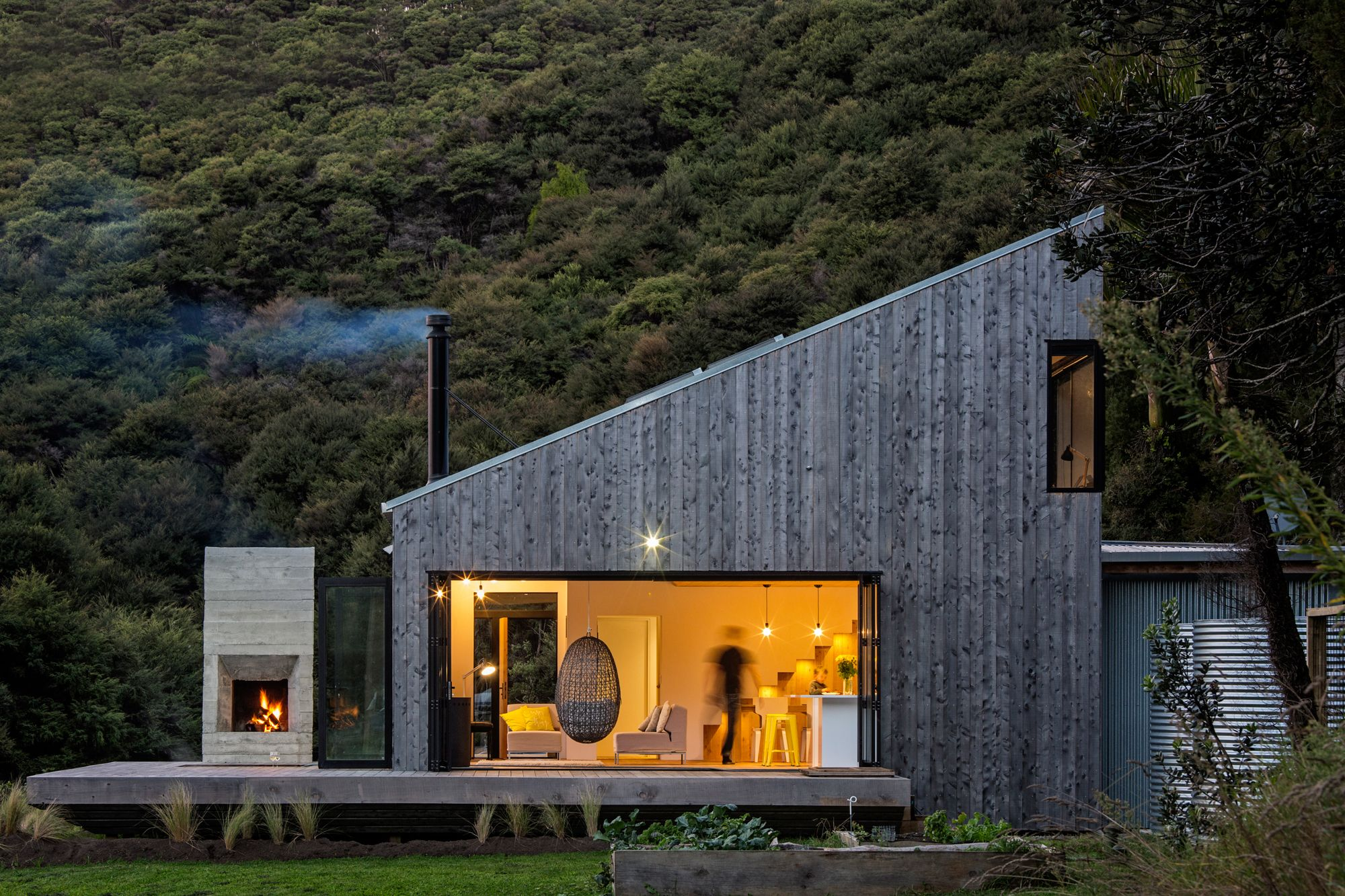 Archdaily: back country house ltd architectural design studio
