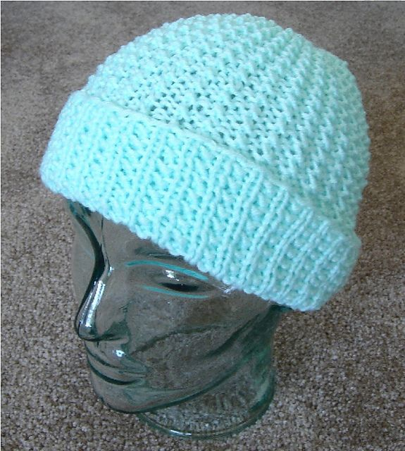 Free on Ravelry: Reversible 2 needle Hat pattern by Frugal ...