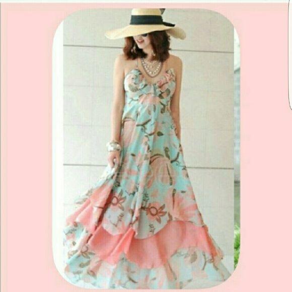 TUESDAY SUPER SALEMaxi dress NWOT. PRICE FIRMED! SALE ALREADY. Z & I Dresses Maxi
