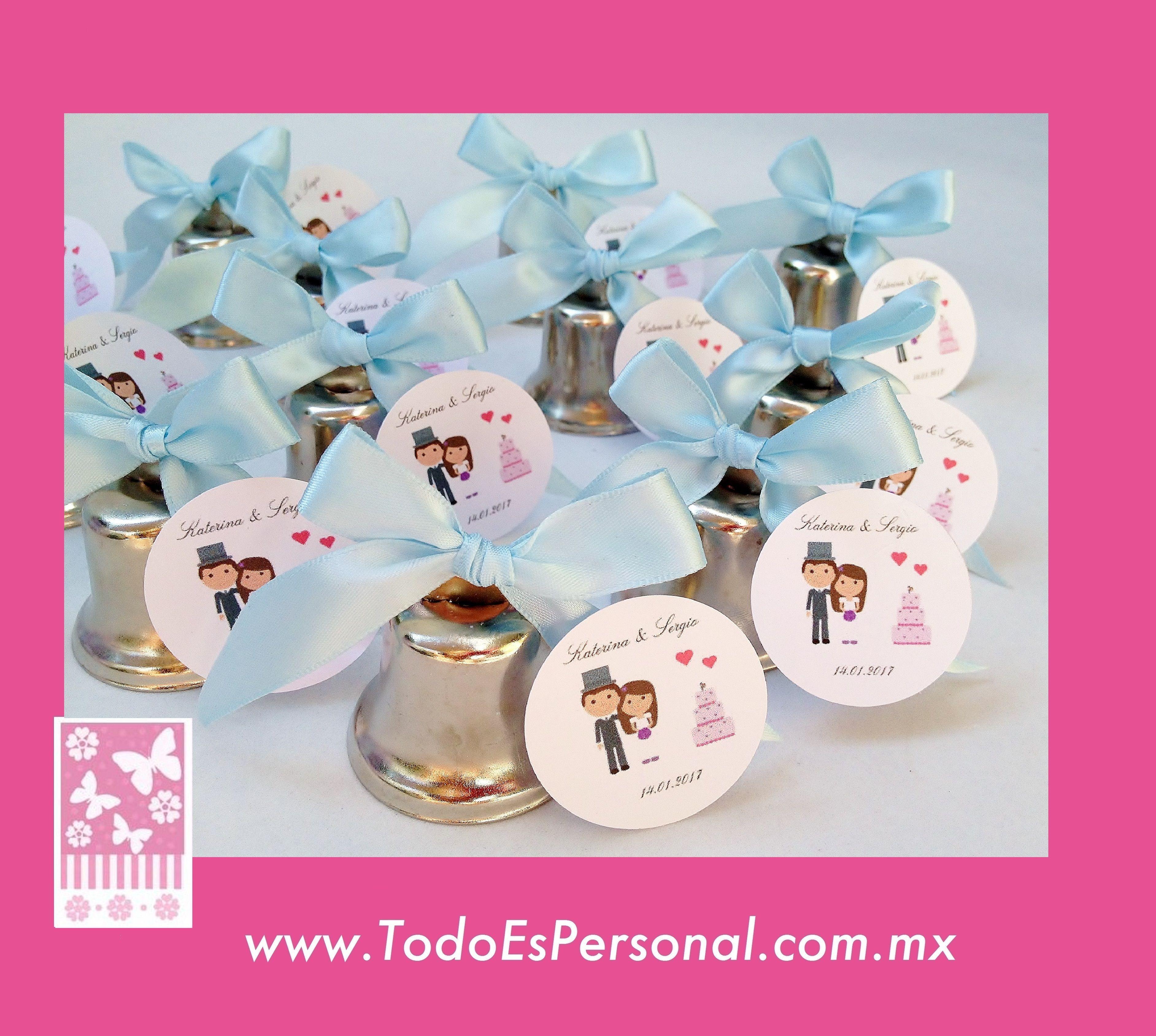 Campanas para boda bodas elegantes bodas originales - Recuerdos de bodas para invitados ...