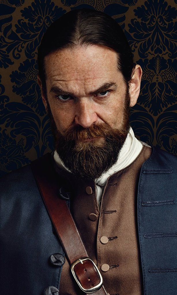 Character and actor information for Outlander, a STARZ