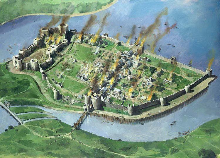 Ataque ao Castelo de Caernarfon-1294