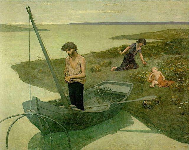 ピエール・ピュヴィス・ド・シャヴァンヌ「貧しき漁夫」