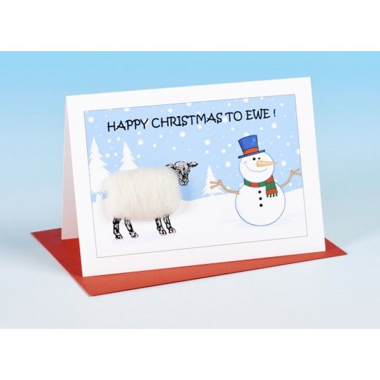 VB-S159 Vanessa Bee Happy Christmas to Ewe Greeting Card