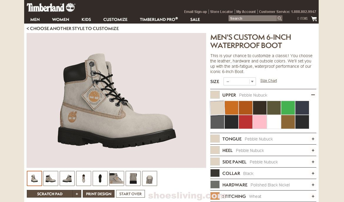 4fc90730fa18 Coloring a Timberland Shoes
