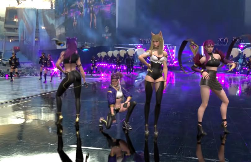 Pop Stars K Da Opening Performance League Of Legends Pop Star Lol League Of Legends
