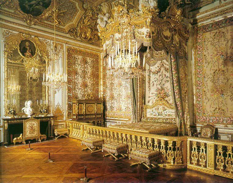 La chambre de la Reine à Versailles