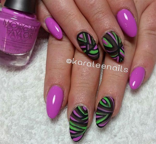 Day 155: Matte Magic Nail Art | Magic nails, Nails magazine and Art ...