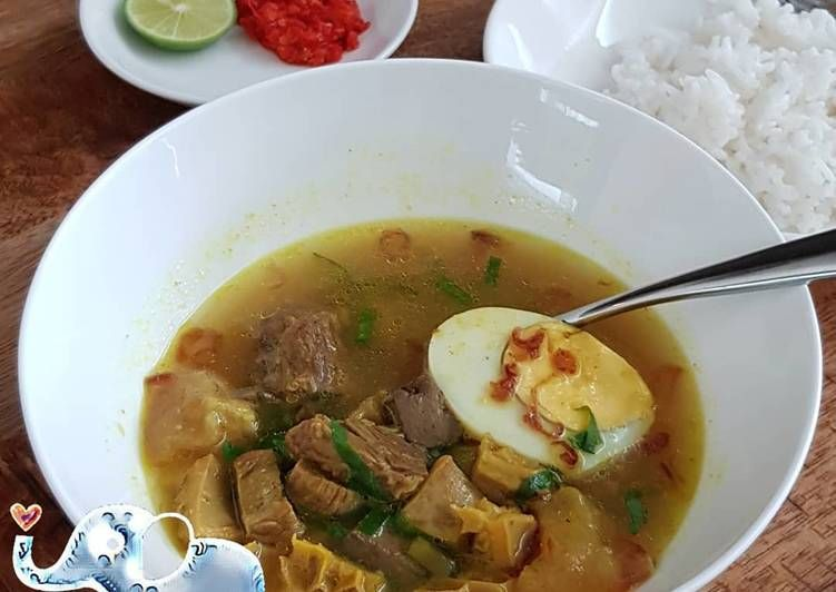 Resep Soto Daging Madura Oleh Lin Fangfei Resep Resep Masakan Resep Masakan