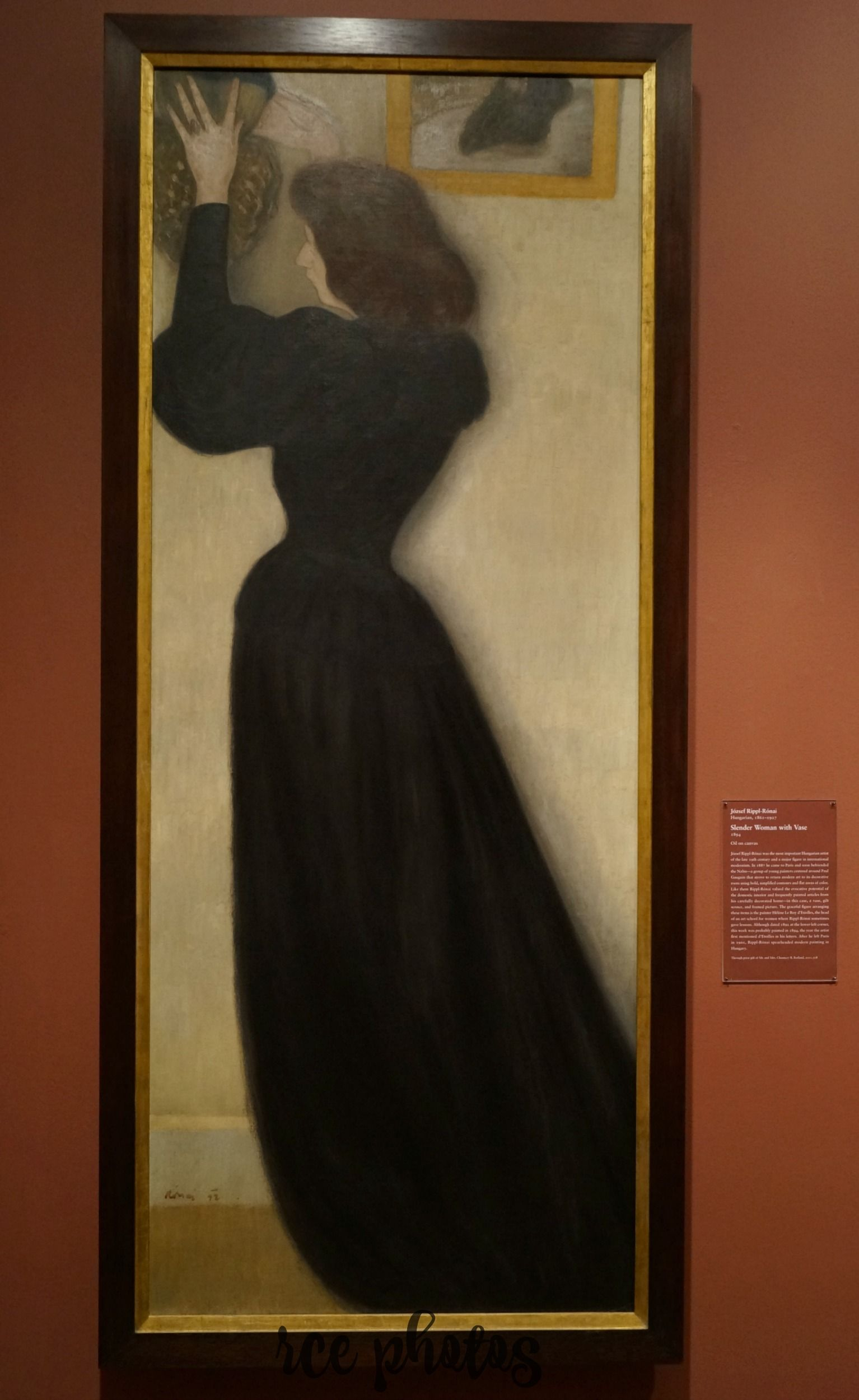 Slender Woman With Vase 1894 By Jozsef Rippl Ronai Art Institute Of Chicago Art Art Institute Of Chicago Art Institutes