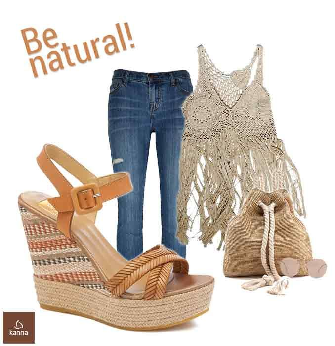 High Platform and Wedge Sandals #espadrilles by Kanna