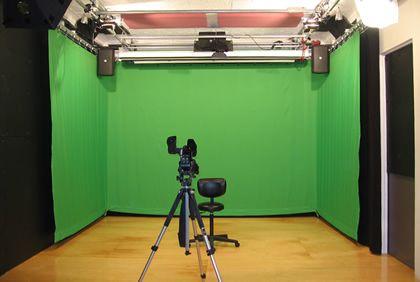 film video green screen studio rental