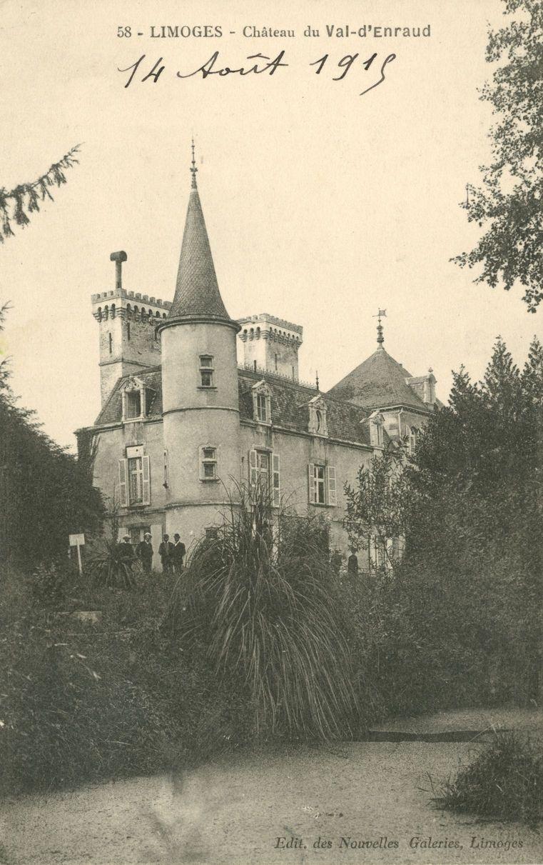 Chateau Du Val D Enraud Commune D Isle Bfm Limoges Limousin Chateau France Limoges