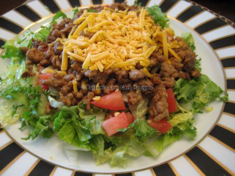 Pork & Chorizo Salad - Buttoni's Low Carb Recipes