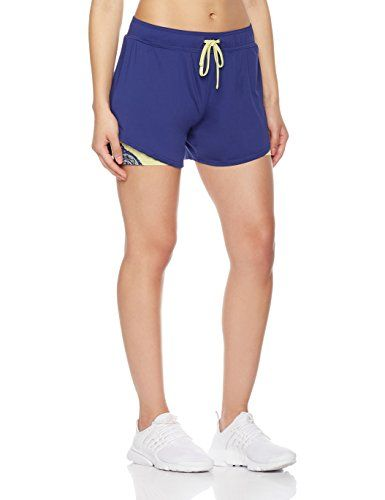 43903085e6a 7Goals Women s Layered Track Short with Lace Insert