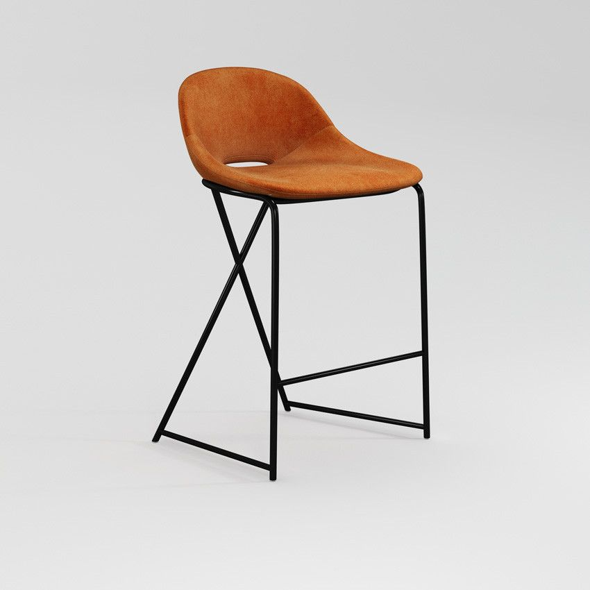 Cross Leg Counter Stool Stools Chairs Stools And Benches Furniture The Conran Shop Counter Stools British Furniture Design Stool